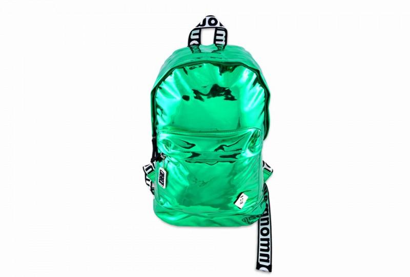 Foil Green Backpack