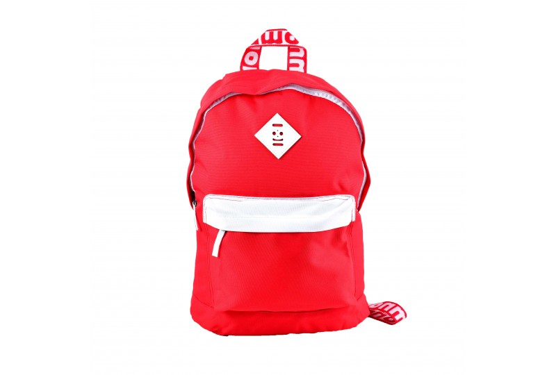 Classic Recycled Red Backpack