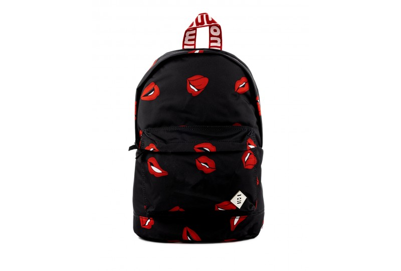 Lips Recycled Backpack